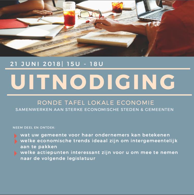 Ronde Tafel 18.Ronde Tafel Lokale Economie Streekoverleg Zuid Oost Vlaanderen